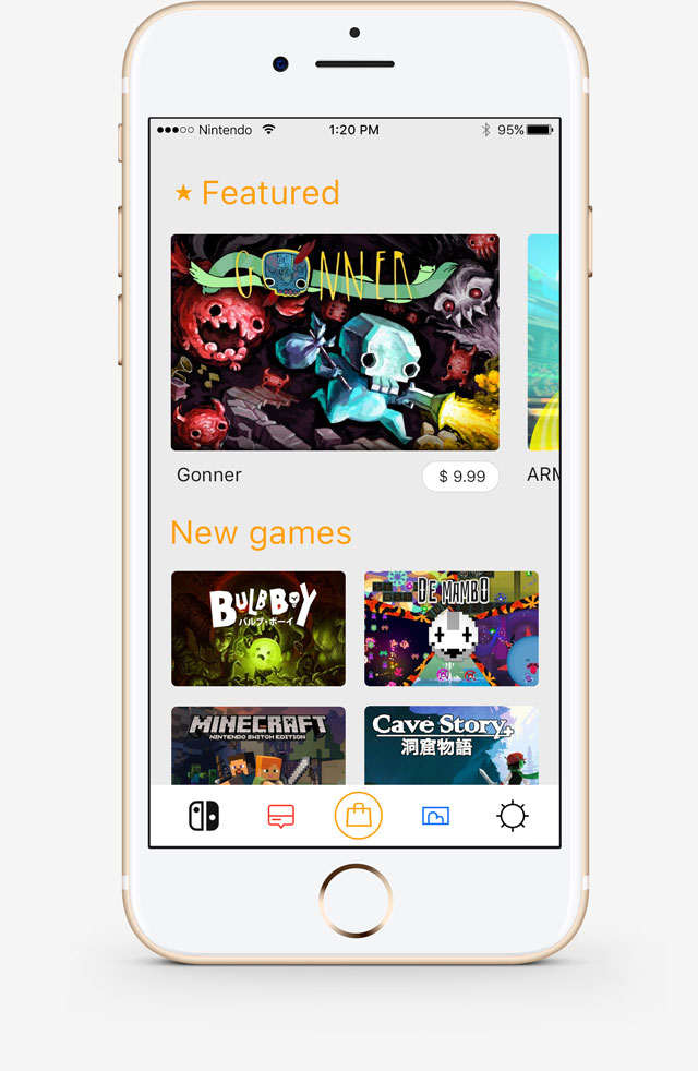 can you buy and download games on nintendo switch